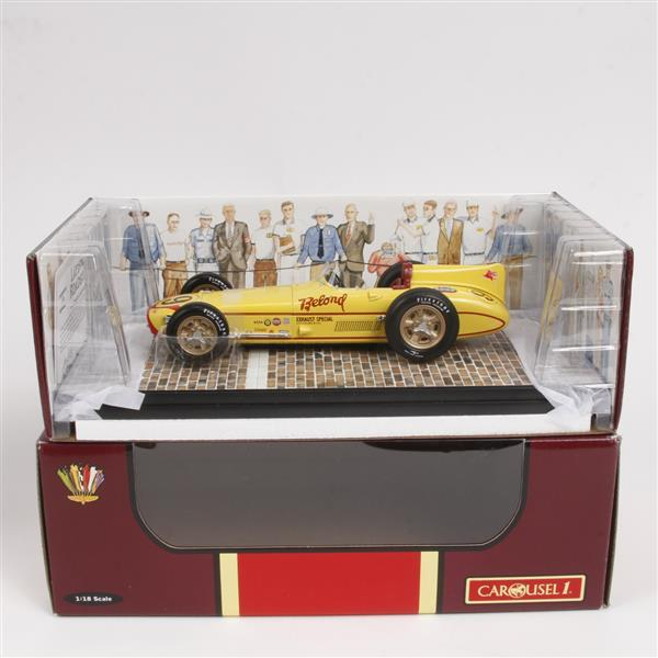 Carousel Laydown Roadster 5051 Scale Model Of The 1957 Indi