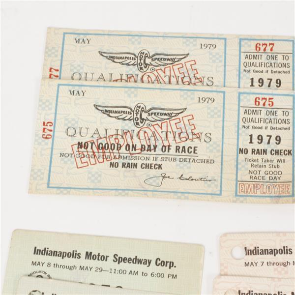 Large collection of indianapolis motor speedway tickets from for Indianapolis motor speedway ticket office