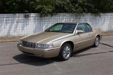 Gold 1998 Cadillac Eldorado Coupe; 49,906 miles.
