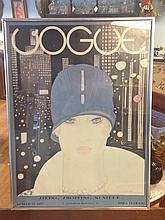 Vogue Cover Conde Nast & Co.  Original 1927 cover Print