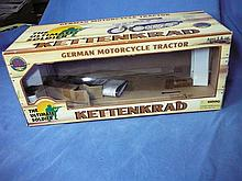 ULTIMATE SOLDIER KETTENBRAD GERMAN MOTORCYCLE TRACTOR  BOX ONLY !
