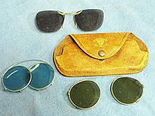WW2 US ARMY AIR CORPS SUNGLASSES SET OF 3
