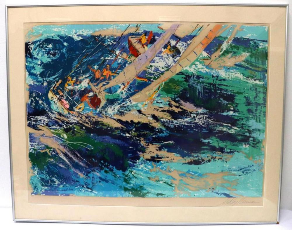 "LeRoy Neiman ""High Seas Sailing"" Silkscreen"