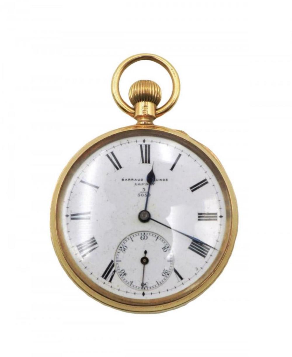 19th C. Barraud & Lunds 18Kt Pocket Watch