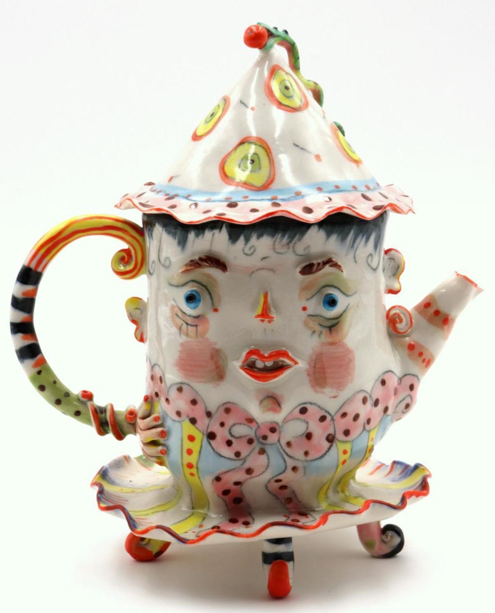 Irina Zaytceva (Russian, b. 1937) Porcelain Creamer