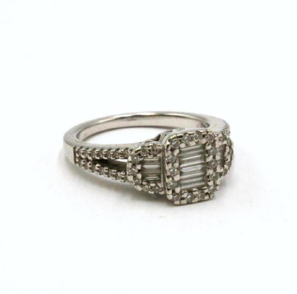 Birks 18Kt White Gold Diamond Ring