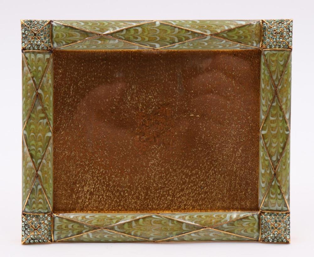 Jay Strongwater Enamel Picture Frame