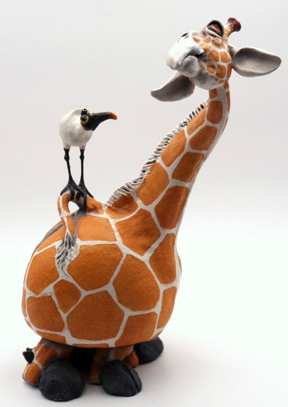 Todd Warner (American, b. 1945) Giraffe Sculpture