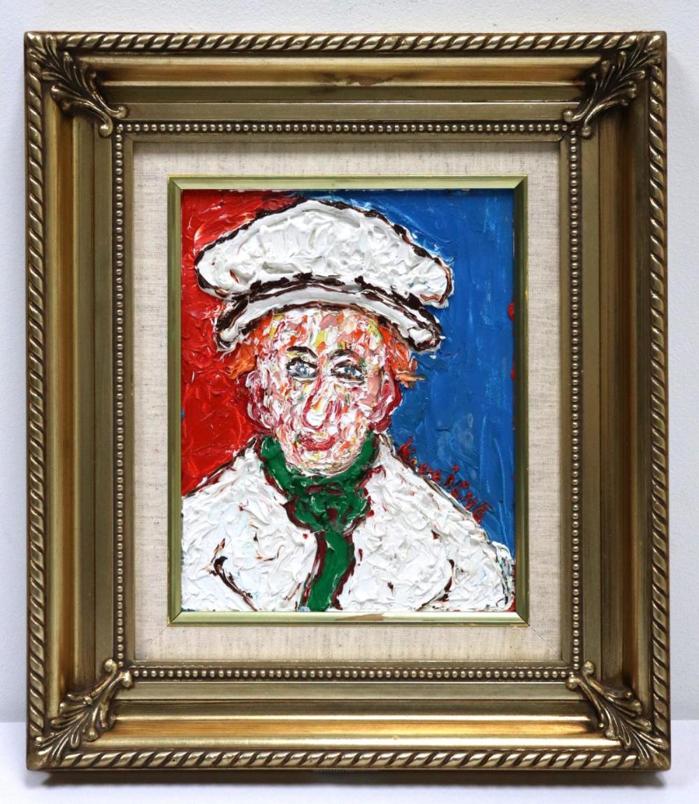 """Michel Kouliche (French 1922-2010) """"Le Chef"""""""