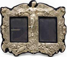 Late 18th C. Charles Hougham Sterling Picture Frame