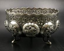 European 800 Silver Footed Bowl