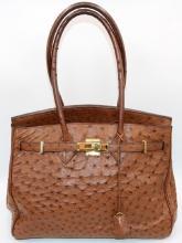 Genuine Ostrich Bag