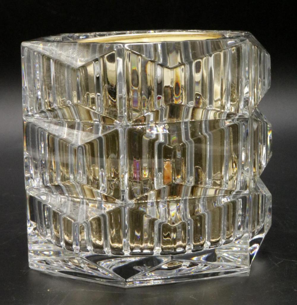 "Baccarat ""Rouge 540"" Crystal Candle Holder"