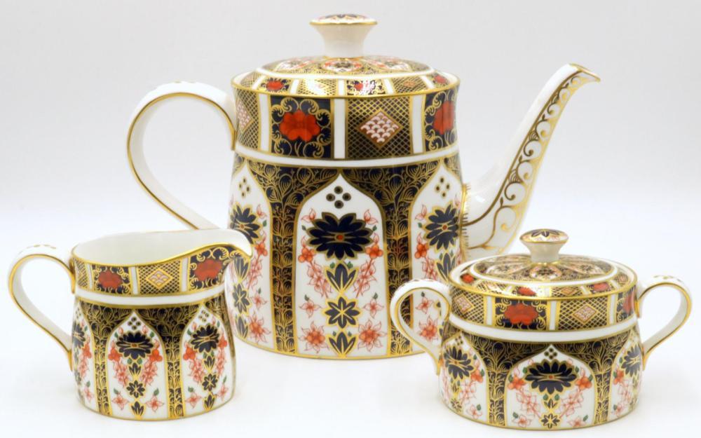 "Royal Crown Derby ""Old Imari"" Tea Set"
