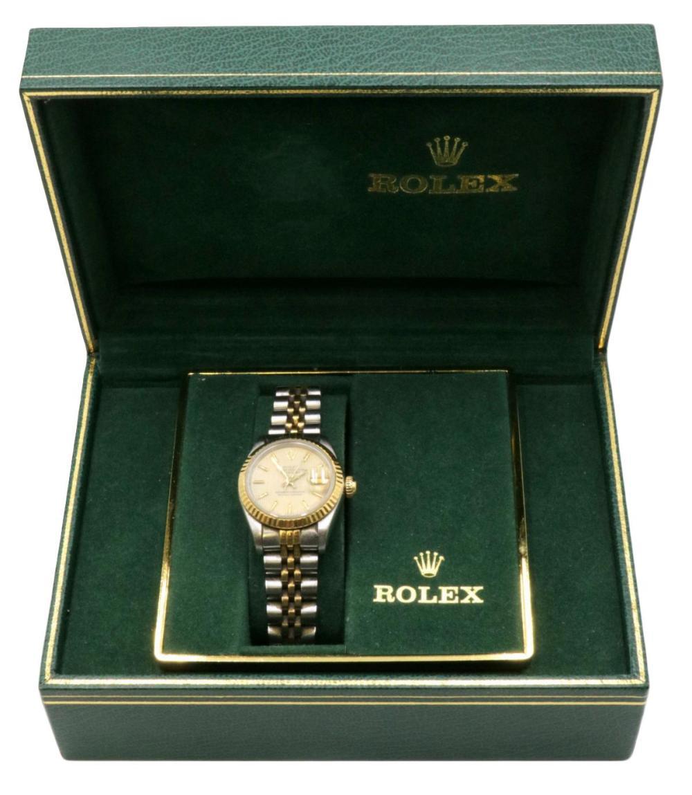 Rolex Datejust 18Kt & Stainless Steel Ladies Watch