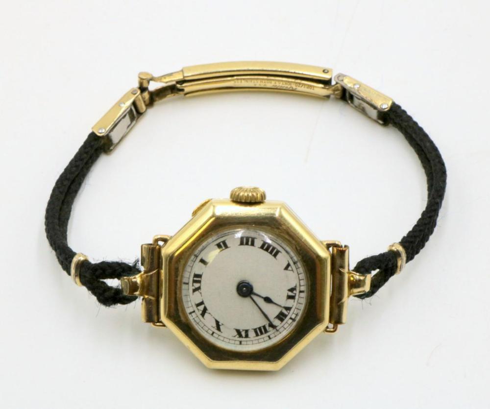 Rolex Style 14Kt Watch