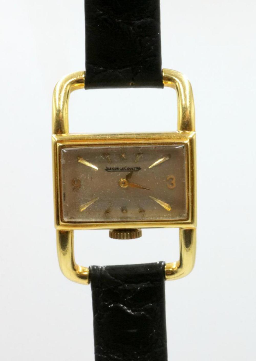 Vintage Jaeger LeCoultre 18Kt Watch
