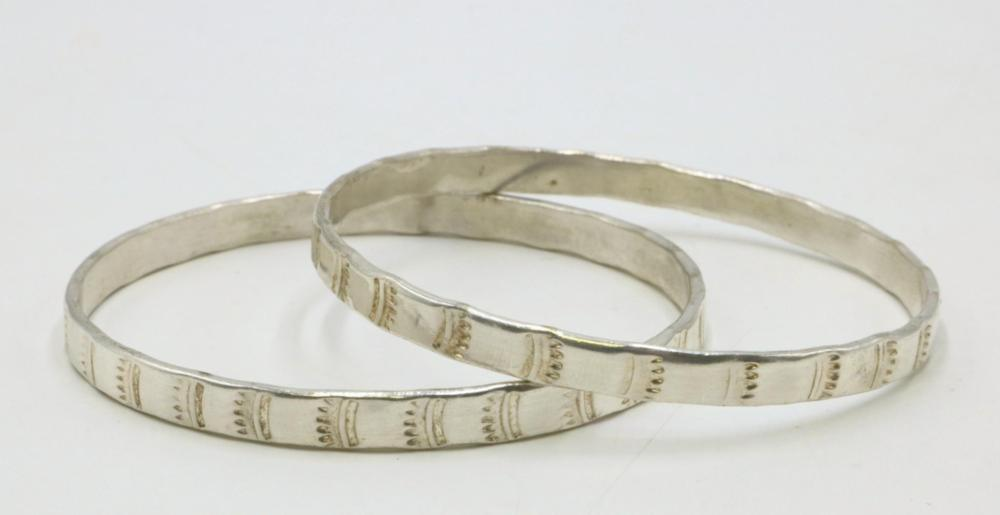 Taxco Sterling Silver Bangles