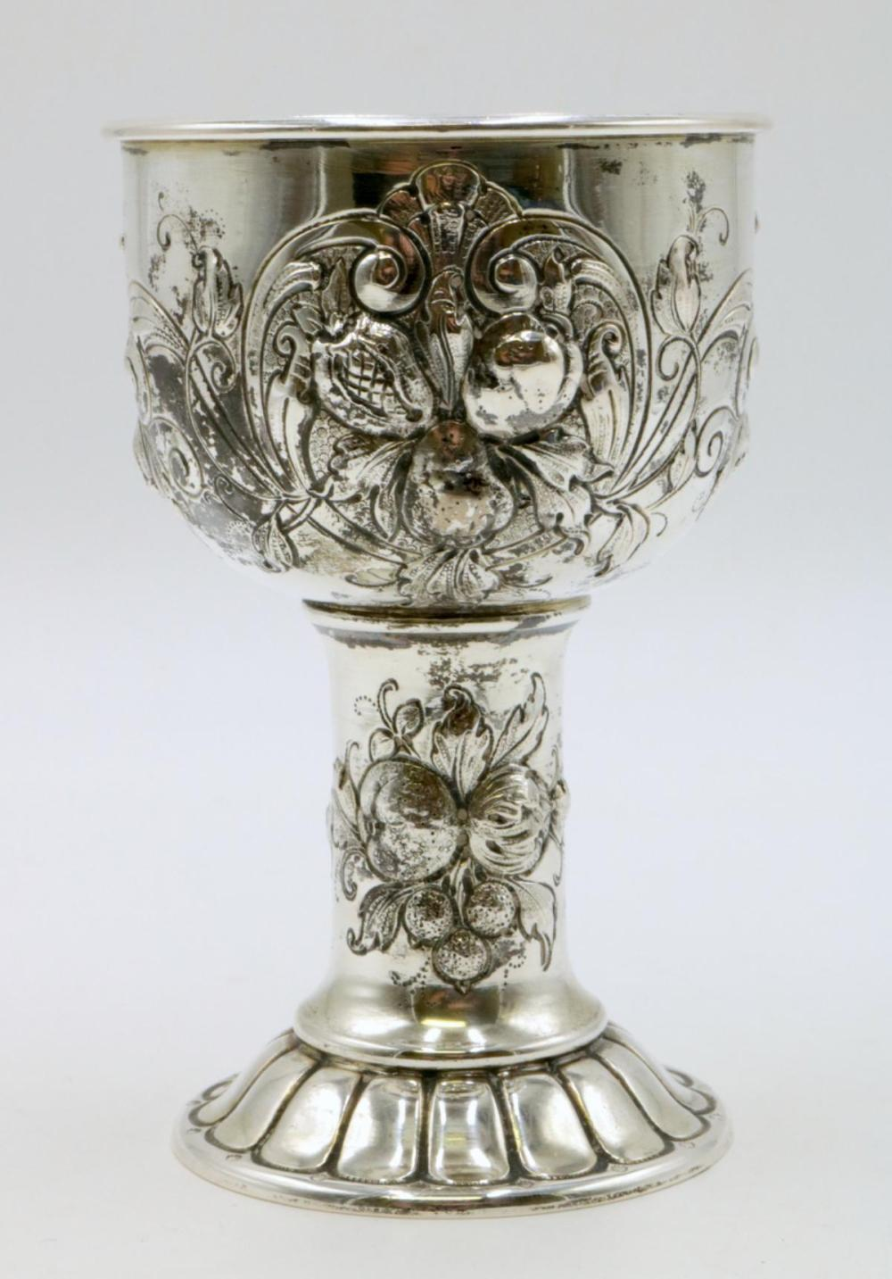 Beautiful Sterling Silver Chalice