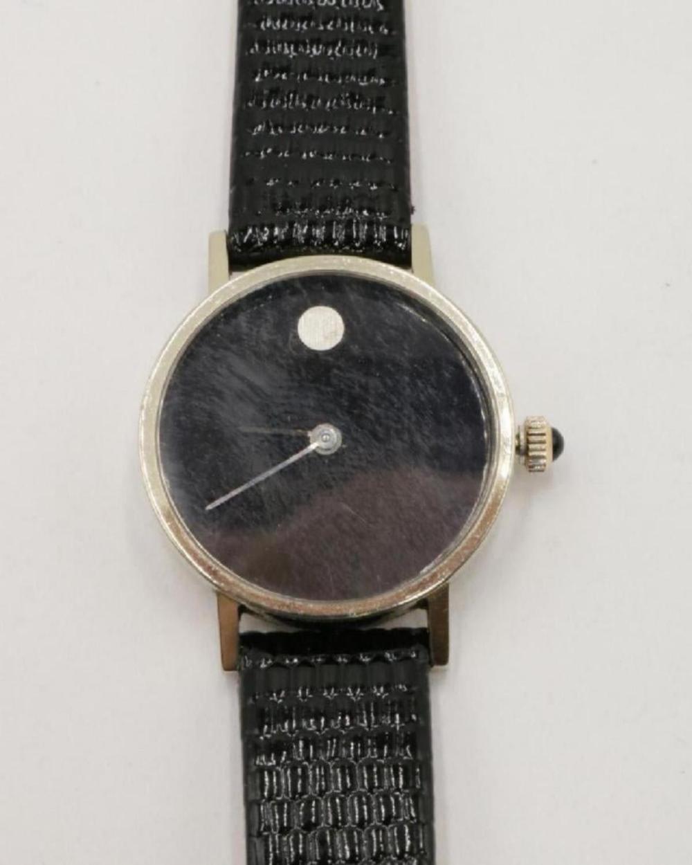 "Movado 18Kt ""Zenith"" Watch"