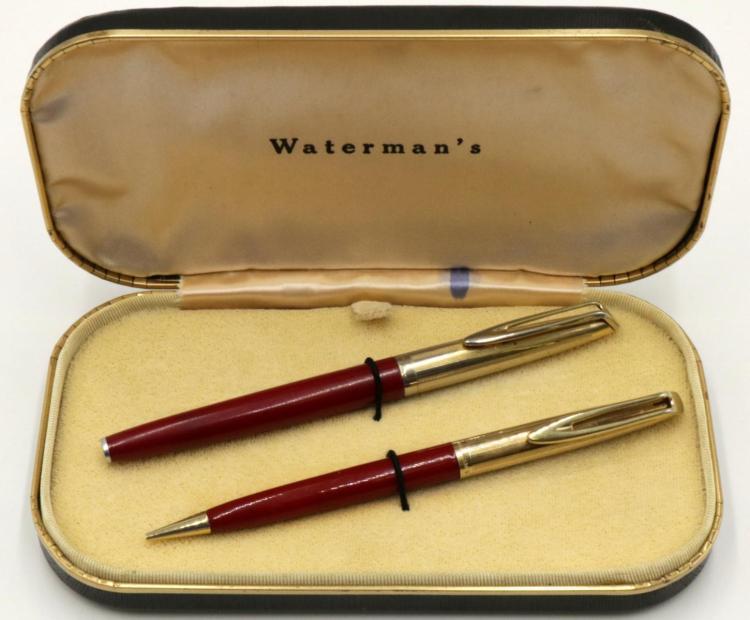 Watermans 14Kt Nib Pen Set w/ Box