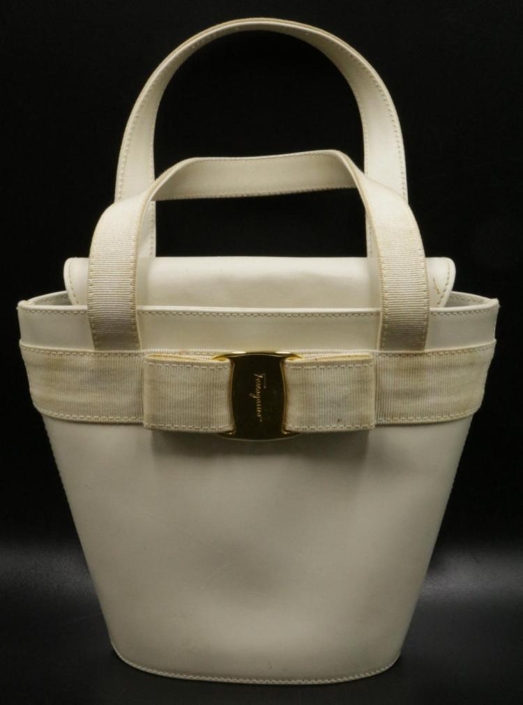 Ferragamo Ladies Bucket Hand Bag