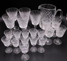 21 Pc. Waterford