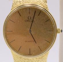Omega 14Kt YG Men's Wristwatch