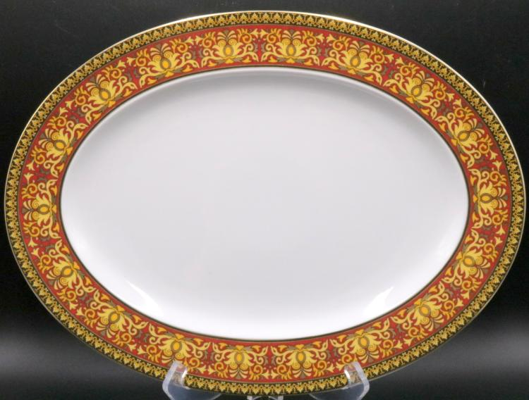 Rosenthal versace medusa porcelain serving platter for Rosenthal home designs