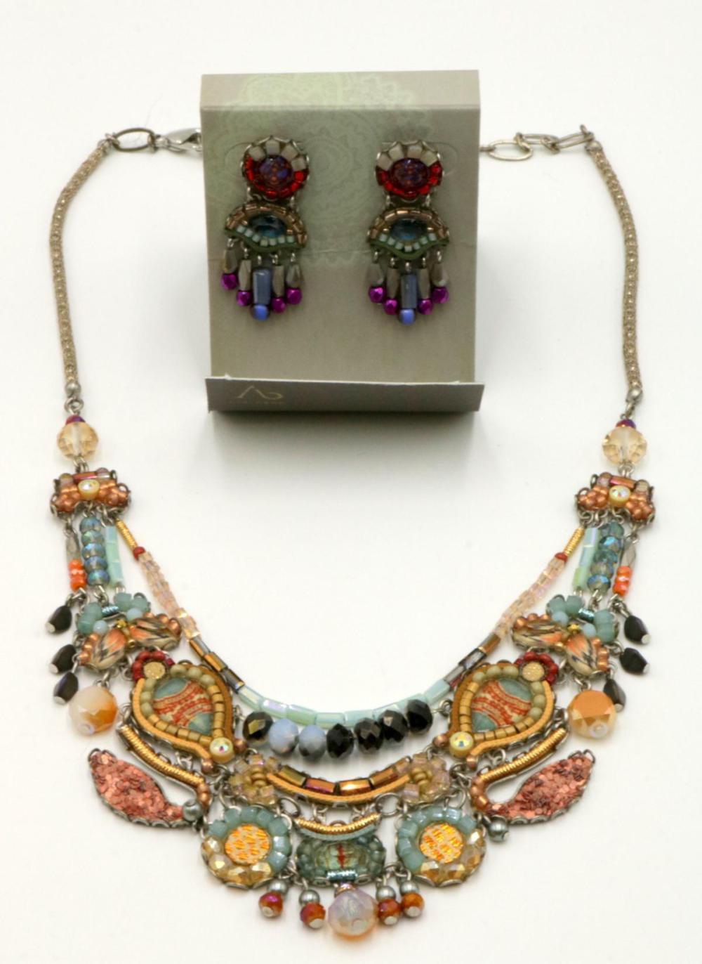 Ayalabar Beaded Costume Jewelry Suite