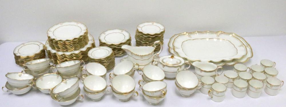 """Rare 110 Pc. Royal Crown Derby """"Lombardy"""" China Service"""