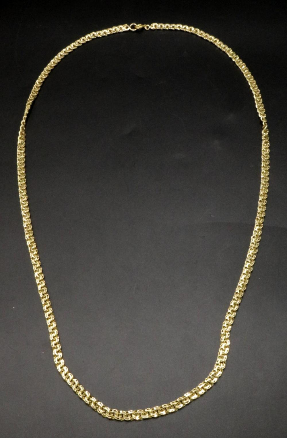 14Kt Yellow Gold Necklace