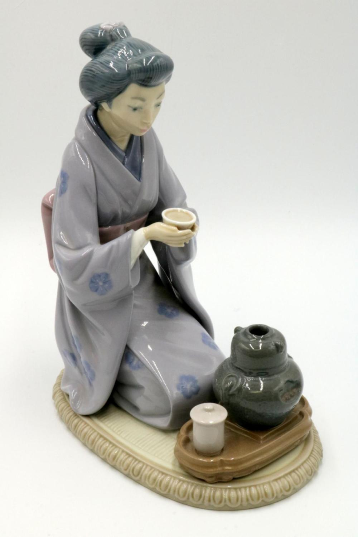 Lladro Porcelain Geisha Girl