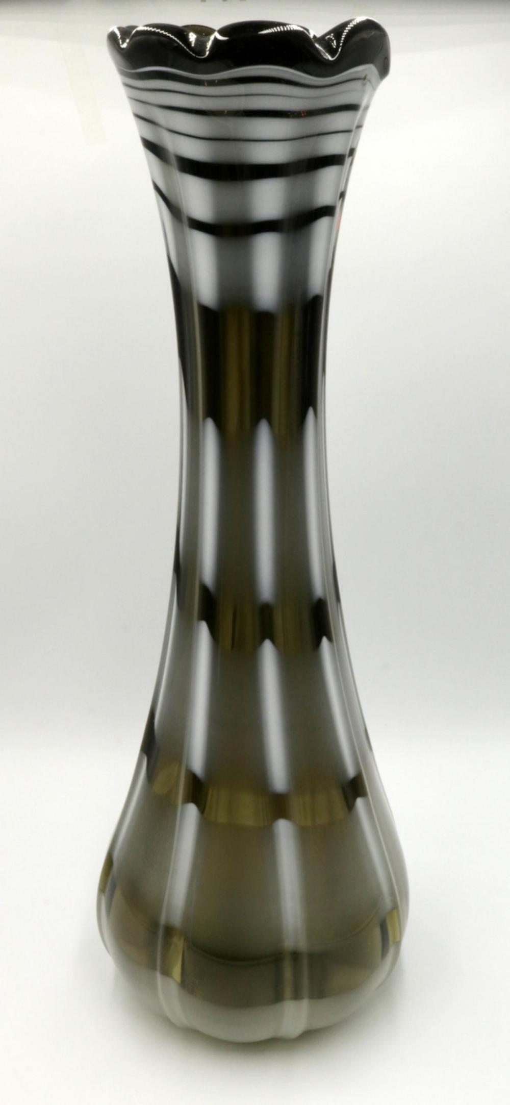 Large Italian Murano Art Glass Vase