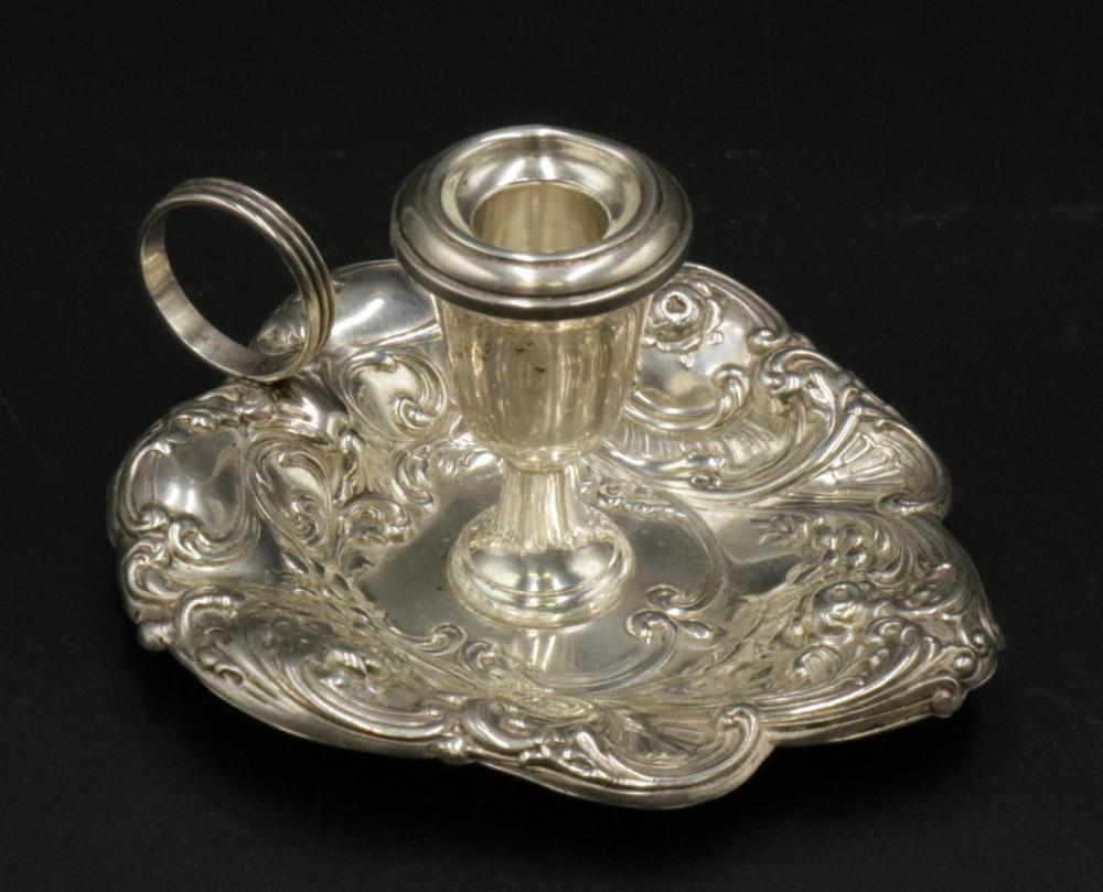 Gorham Sterling Silver Chamber Candlestick