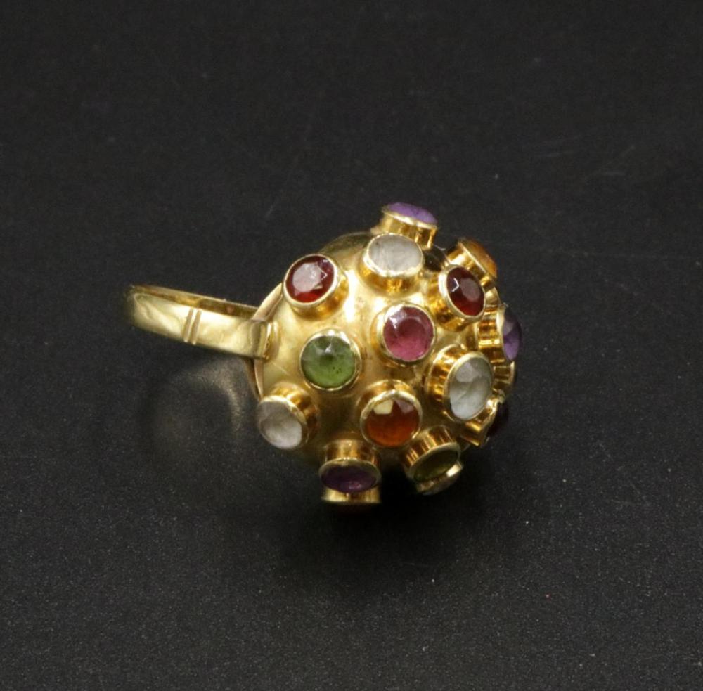 H. Stern 18Kt & Multi-Precious Stone Ring