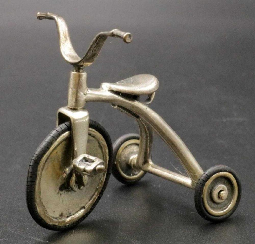 Miniature Sterling Tricycle