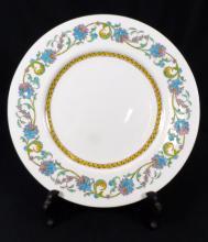 12pc WEDGWOOD ENAMELED PORCELAIN DINNER PLATES