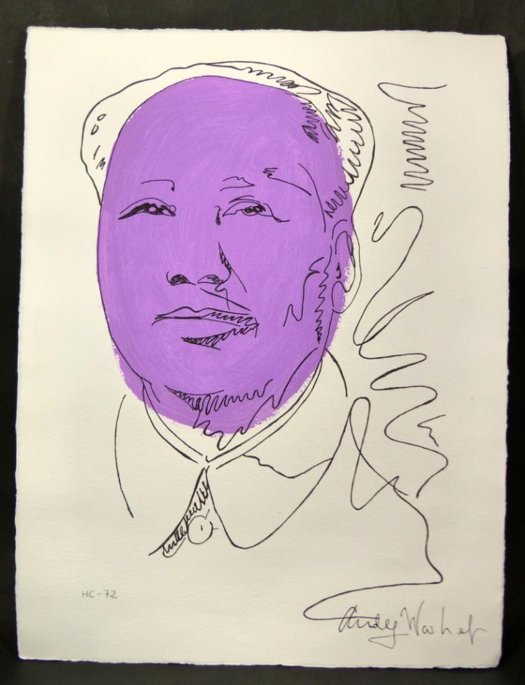 andy warhol paper $500 starting bid bidding starts to close tue, jul 24, 2018 6:00 pm edt register now to bid in july 24th consignment auction.
