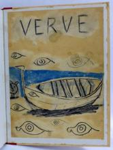 VERVE PABLO PICASSO DOUBLE ISSUE 1948