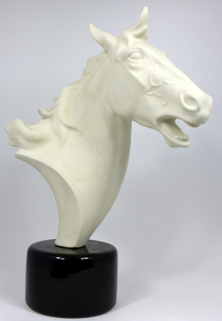 KERAMOS AUSTRIAN CERAMIC HORSE HEAD