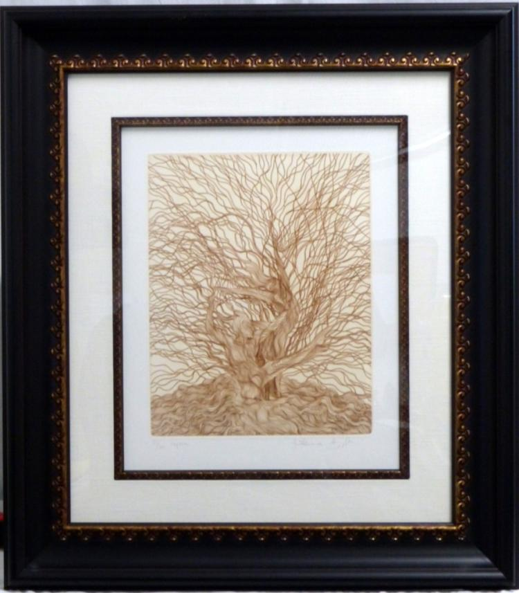 GUILLAUME AZOULAY 'CAPREA' ETCHING