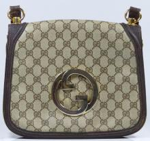 AUTHENTIC GUCCI ITALIAN MONOGRAM PURSE