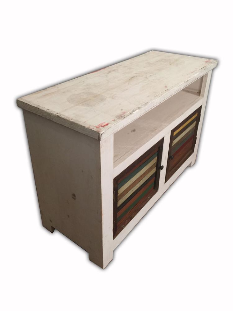 Rustic recycled wood dining kitchen cabinet accent furnitu for Auctions kitchen cabinets