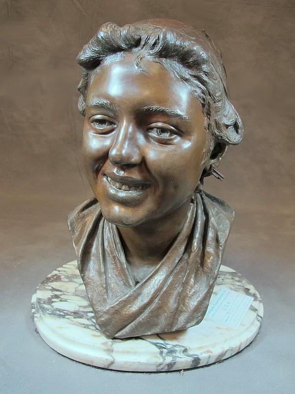 Pasquale FOSCA (1858-?) bronze bust