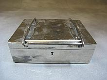German Kaiser silverplated box