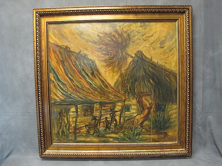 Hector MOLNÉ (1935/37) cuban artist painting