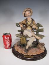 Capodimonti Cirrincioni porcelain statue