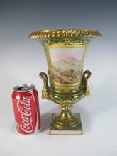 Antique French  porcelain vase