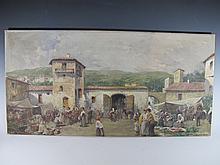 Andrea MARCHISIO (1850-1927) Italian artist painting